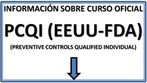 Curso Oficial PCQI Individuo Calificado en Controles Preventivos GESTEMA